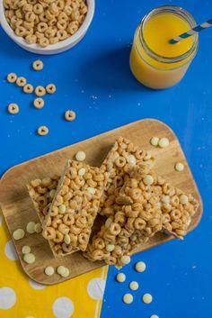 Cheerio Bars, School Snacks, Sweet Recipes, Breakfast Recipes, Cereal, Juice, Food And Drink, Juices, Juicing