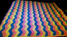 Ravelry: Project Gallery for Ripple Afghan pattern by Janet Jarosh