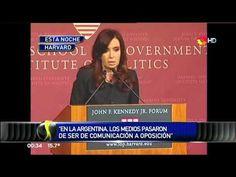 CFK EN HARVARD Y EL INSULTO DE MORENO