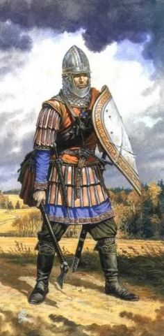 Frankish warrior ...