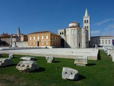 Zadar, Croatia, with St Donat's Church