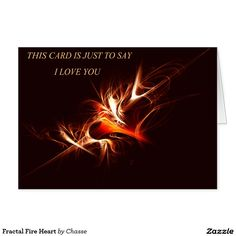27 best love and romance greeting cards images on pinterest fractal fire heart m4hsunfo