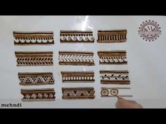 learn Border heena design for bridal mehndi Traditional Henna Designs, Mehandhi Designs, Floral Henna Designs, Full Hand Mehndi Designs, Mehndi Designs 2018, Mehndi Designs For Girls, Henna Art Designs, Mehndi Designs For Beginners, Mehndi Design Photos