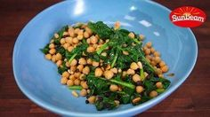 English Spinach, Chickpeas and Currants
