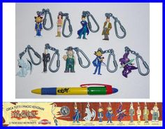 RARE SET 9 Cute Figures YU-GI-OH Keyrings OFFICIAL from DOLCI PREZIOSI ITALY NEW