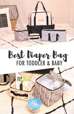 Best Diaper Bag for Toddler and Baby - @ppbbaby Petunia Pickle Bottom INTERMIX Collection - The hands-free backpack for moms with more than one kid!