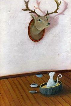 Dixit card by Marie Cardouat / Иллюстрация Мари Кардуа