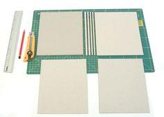 Encuadernacion: carpeta con tela