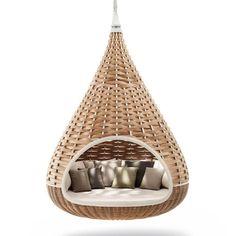 Nestrest: Hanging Cocoon Lounger: DEDON