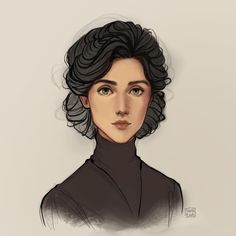 Stalking Jack the Ripper by won my fan art poll on Patreon back in October, so I drew a portrait of Audrey Rose :) . Art Sketches, Art Drawings, Dungeons E Dragons, Audrey Rose, Fan Art, Portraits, Pretty Art, Character Design Inspiration, Art Inspo