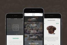 Ecommerce Free Mobile App UI Kit