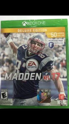 Xbox One Madden 2017 Deluxe Edition  $26.00 (12 Bids)End Date: Wednesday Aug-24-2016 15:16:49 PDTBid now | Add to watch list