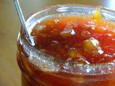 Homemade Peach Jam Tina Recipe, Apricot Jam Recipes, Cooking Tips, Cooking Recipes, Peach Jam, Eat Breakfast, Chutney, Preserves, Italian Recipes