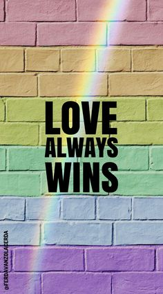 Love always wins – – – hintergrund Cute Tumblr Wallpaper, Cute Wallpaper For Phone, Cute Girl Wallpaper, Rainbow Wallpaper, Wallpaper Iphone Disney, Trendy Wallpaper, Kitty Wallpaper, Mobile Wallpaper, Cute Wallpapers For Ipad