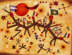 País - Xul Solar (Oscar Agustin Alejandro Schulz Solari) - argentino (1887-1963)
