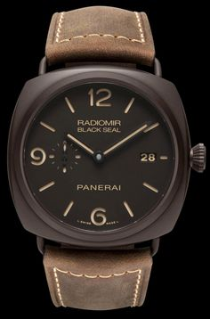 RADIOMIR COMPOSITE BLACK SEAL 3 DAYS watch by Panerai on Presentwatch