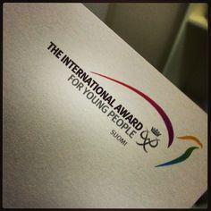 Got an #invitation #TheInternationalAwardForYoungPeople #award #avartti :) #happy