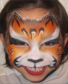 Leopard Face Paint