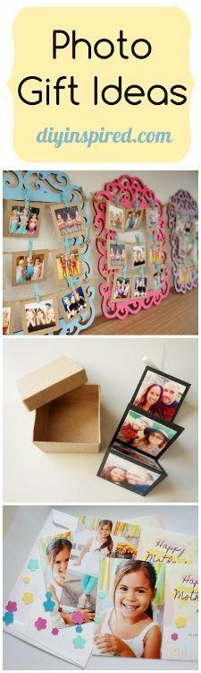 Photo Craft Gift Ideas with Video Tutorials