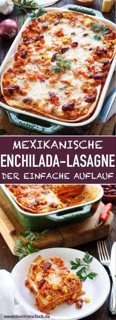 Enchiladas Mexicanas, Crock Pot Recipes, Freezer Recipes, Freezer Cooking, Cooking Tips, Mexican Food Recipes, Vegetarian Recipes, Dinner Recipes, Mexican Desserts