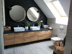 Small Bathroom Interior, Diy Bathroom, Modern Master Bathroom, Rustic Bathrooms, Bathroom Design Small, Laundry In Bathroom, Dream Bathrooms, Laundry Room Design, Home Room Design