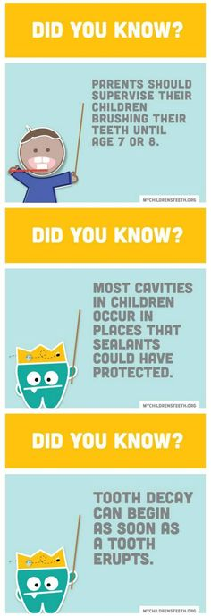 Facts about children's dental health and how kids can avoid tooth decay from the The American Academy of Pediatric Dentistry.