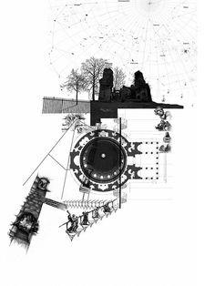 archisketchbook:  Design Project 2Studio 1: Cinema and the CityTutor: Russell LightStudent: Risha Na