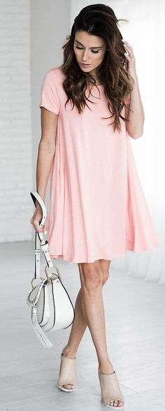 #summer #ultimate #outfits |  Little Pink Dress