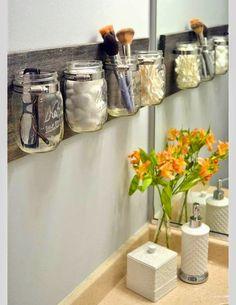 Organize sem Frescuras | Rafaela Oliveira » Arquivos » Reutilize potes de vidro…
