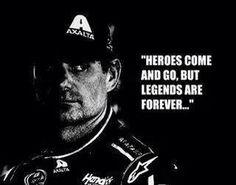 Jeff Gordon is a Legend Nascar Sprint Cup, Nascar Racing, Drag Racing, Jeff Gordon Nascar, Racing Quotes, Relay For Life, Motor Speedway, Dale Earnhardt Jr, Sports Figures