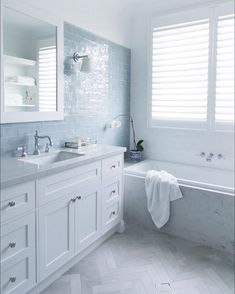 A lovely shot of our youngest boys' bathroom captured by Designe Rustic Bathroom Shelves, Rustic Bathroom Vanities, Bathroom Storage Shelves, Bathroom Renos, Bathroom Interior, Hamptons Style Homes, Hamptons House, Hampton Style Bathrooms, Bathroom Inspiration