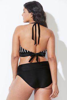 77c7c79a0c6 Avenger Mililani Halter Bikini with Foldover Brief. Swimsuits For AllTwo ...