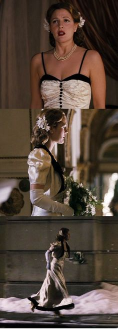 HBO's 'Grey Gardens' (2009). Drew Barrymore as Little Edie. Costume Designer: Catherine Marie Thomas//