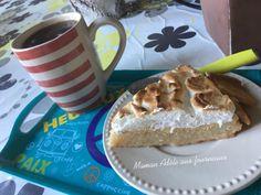 Tarte à la Noix de Coco Meringuée | Maman Adèle aux fourneaux Tiramisu, Ethnic Recipes, Desserts, Food, French Coconut Pie, Sweet Pie, Tarts, Sweet Recipes, Cooking Recipes