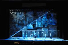 west side story set . impressionistic influences and deconstructed. really cool