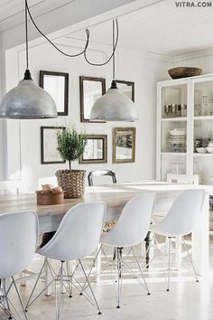 Classic Home Update: Eames Chairs