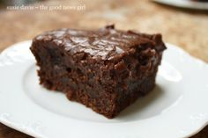 You've probably had Chocolate Sheet Cake before but until you try Mary Ann's Chocolate Sheet Cake, gracious. That's all I can say … I mean, just look at that lovely! Mary An…