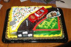 disney cars birthday cake - Google Search