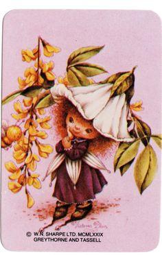 Vintage Swap Cards 1970s Blank Back Little Girl Sugar Plum Fairy | eBay
