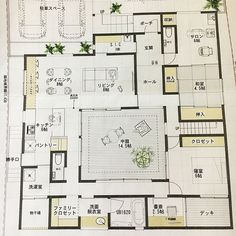 Atrium House, Sims Building, My Dream Home, Floor Plans, How To Plan, Beautiful, Instagram, Modern, Ideas