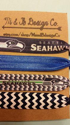 Seahawks  VIP 4 Pack Hair Ties