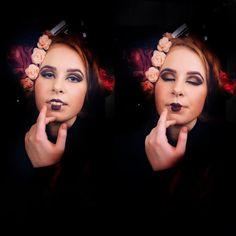My kinda geisha makeup this evening in @maskmakeupacademy 😍👌🏼✨ it was supposed to be Asian makeup but since my model was not Asian I decided to giver this look 😋#fiercesociety #instamakeup #bebellacosmetics #makeupgeek #undiscovered_muas #makeupaddict #makeupsocialapp #mua #makeupfanatic #makeup #makegirlz #makeuplover #ilovemakeup #motd #dressyourface #makeupartistworldwide #glam #glow #maquiagem #make4glam #makeuprevue #mua #realtechniques #cutcrease #shadows #glam #shine #glitter…