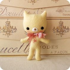 Lemony Kitten pdf Pattern....  Oh! These are adorable!!!!!