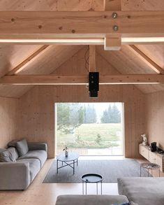 Large Tent, Modern Barn House, Wooden Barn, Old Barns, Montana, Studios, Layout, Interior Design, Gallery