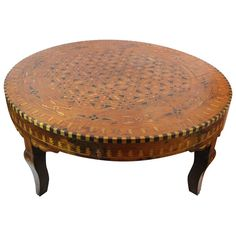 Moroccan Marquetry Low Table 1