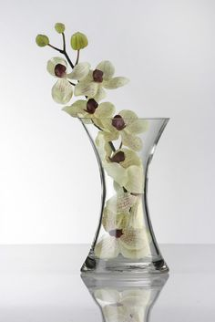 Knightsbridge Glass Waisted Vase | General Vases | Country Baskets