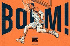 Oklahoma City Thunder Re-Brand