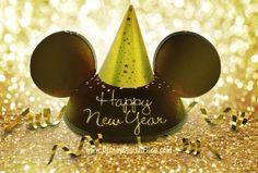 Happy New Year Mickey style Disney Happy New Year, Disney New Years Eve, Happy New Year 2014, Happy New Years Eve, Mickey Mouse And Friends, Mickey Minnie Mouse, Disney Mickey, Walt Disney, Disney Travel