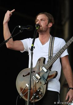 Caleb Followill from Kings of Leon.