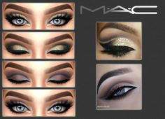 Lana CC Finds - mac-cosimetics: Two @makeupbyan looks by MAC **...